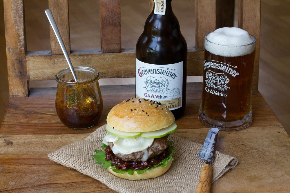 Bacon Jam Burger Grevensteiner