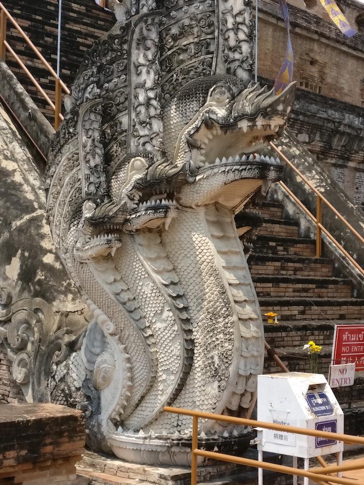 Chiang Mai Tempel Drache