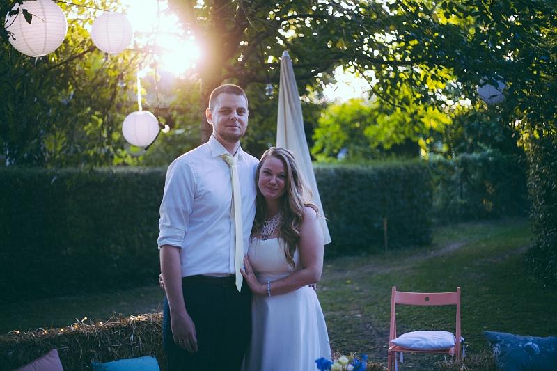 Brautpaar Daniela Jens