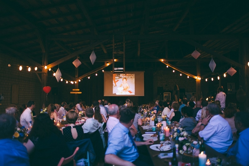 Hochzeit Scheune Vortrag