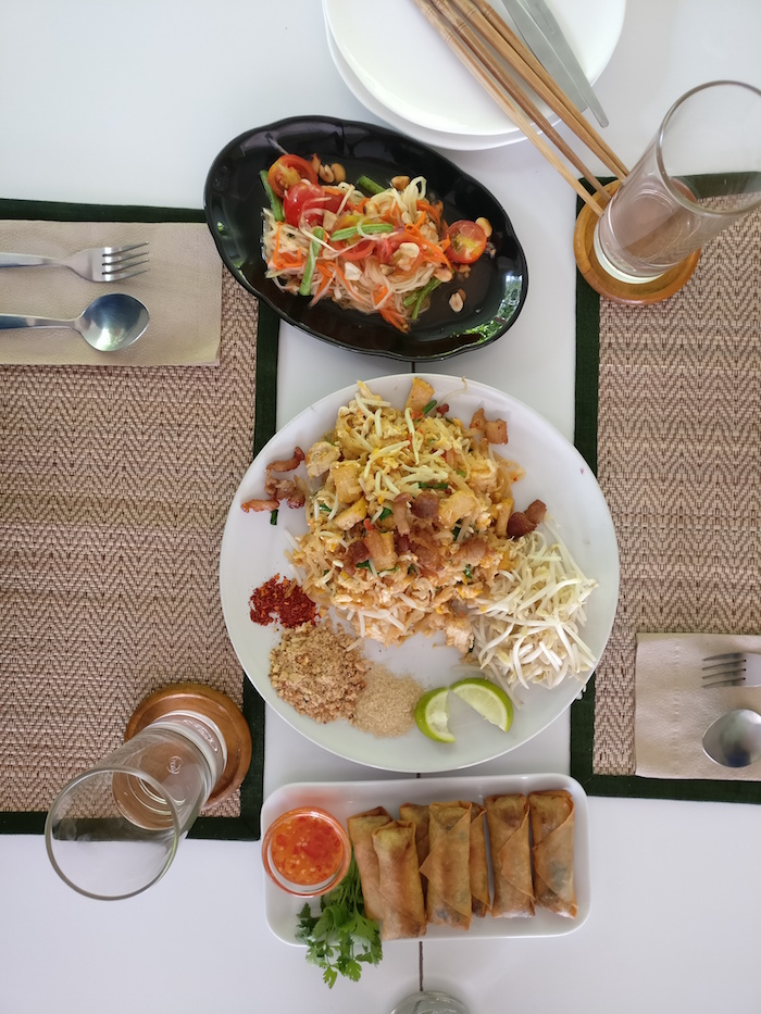 Kochschule Chiang Mai Essen