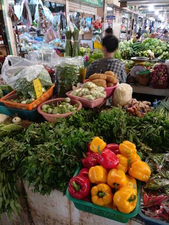 Chiang Mai Kochschule Markt Gemuese