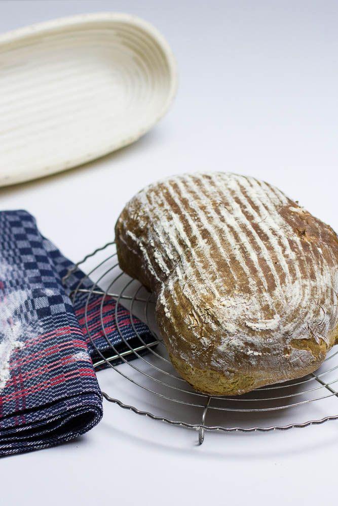 Avocado Brot auf Sauerteig Basis