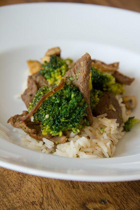 Rindfleisch mit Brokkoli