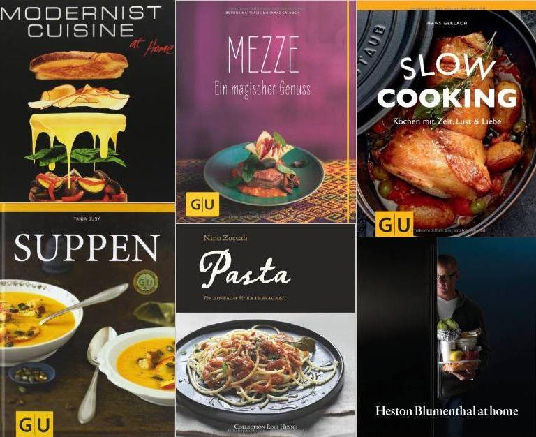 Weihnachtsgeschenke für Hobby Köche - Kochbücher