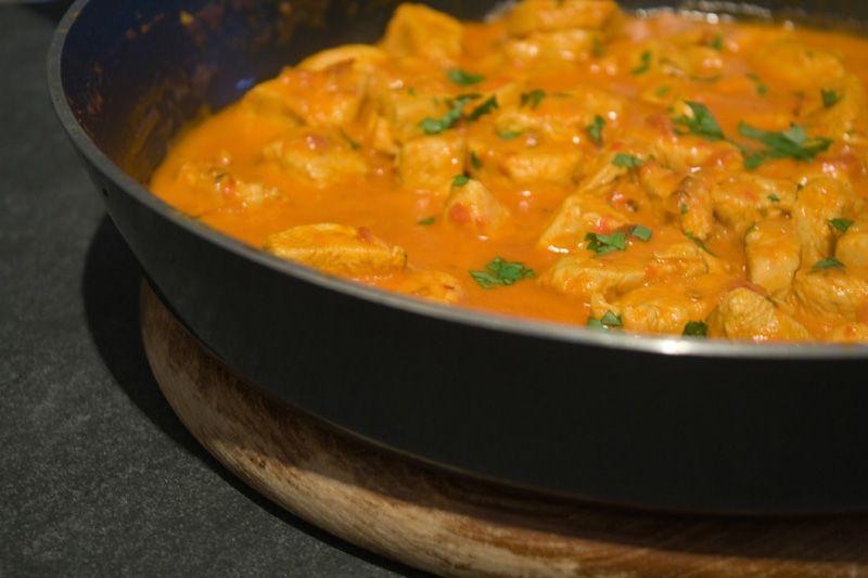 Indisches Chicken Curry