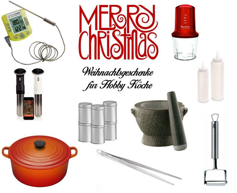 Weihnachtsgeschenke für Hobby Köche