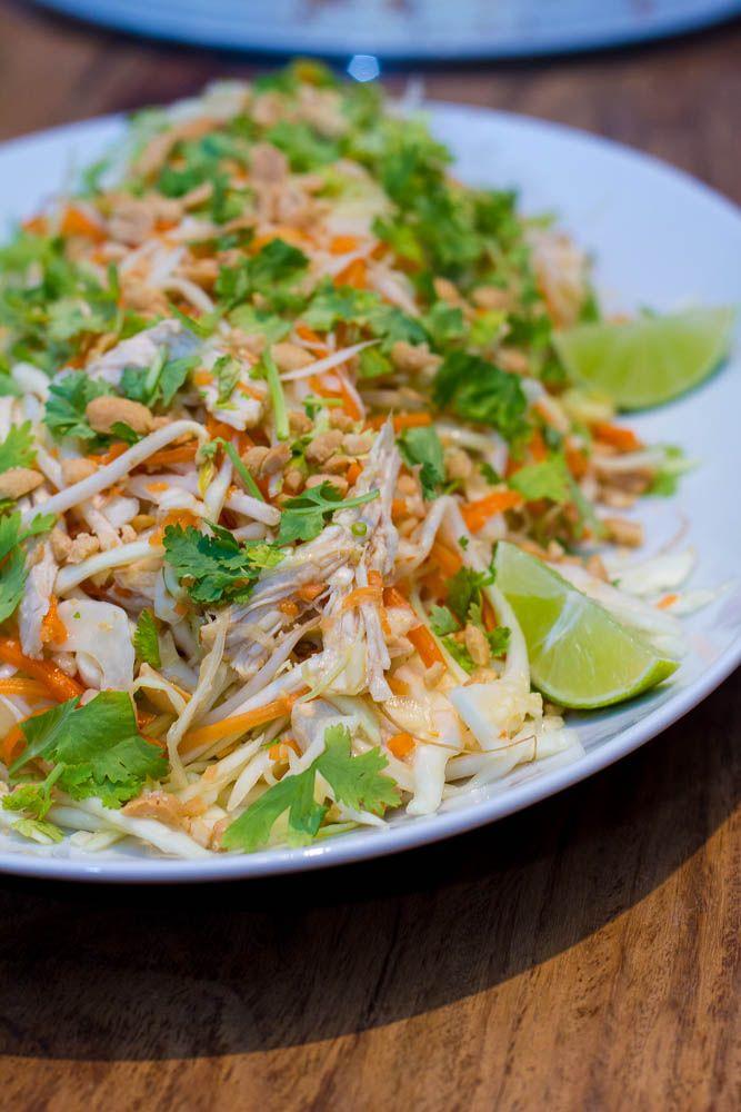 Goi Ga - vietnamesischer Krautsalat mit Hühnchen