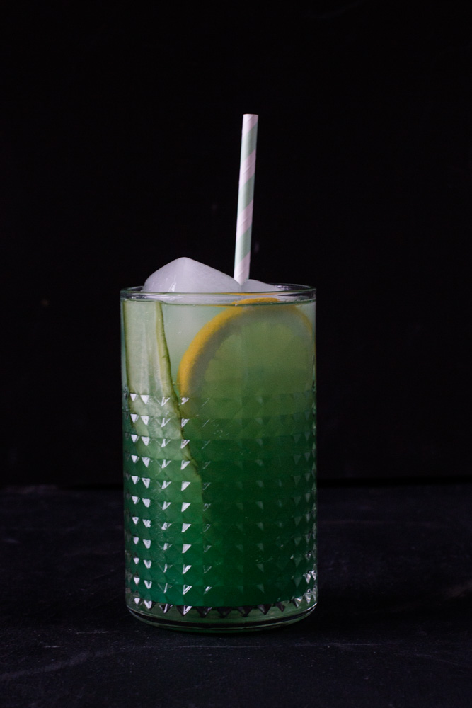 Mocktail: Green Mint Cooler