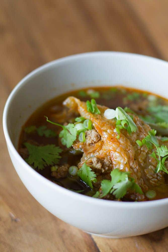 suppe süß sauer chinesisch