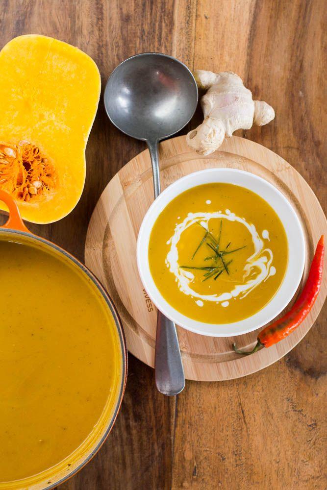 Thai-Kürbissuppe
