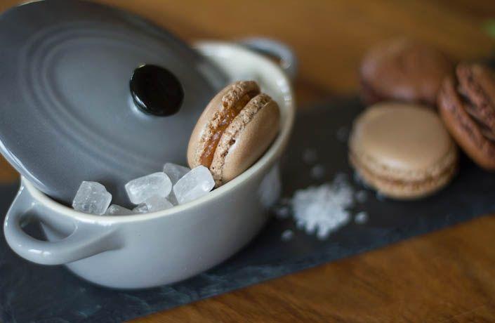 Macarons mal Drei - Schoko, Mojito und Salzkaramell