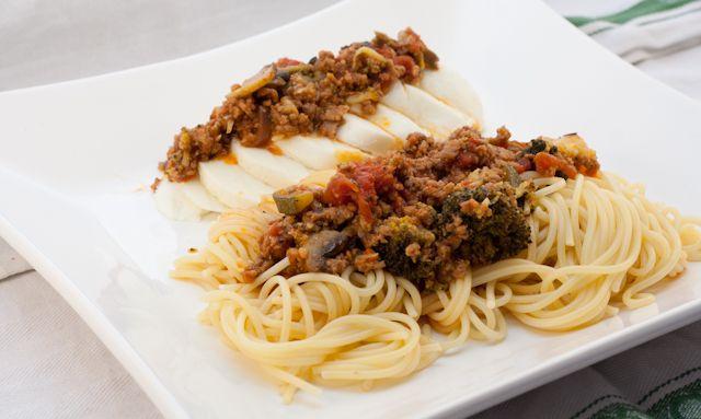 Tomate-Mozzarella-Pasta