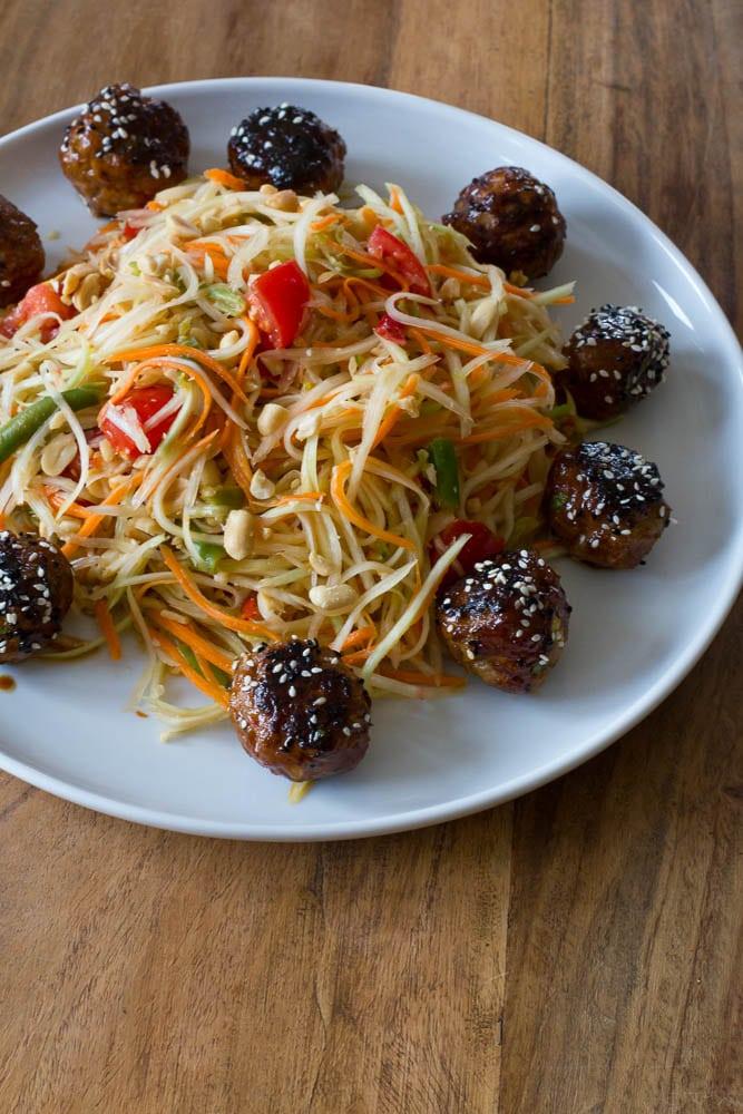Som Tam - thailändischer Papaya Salat