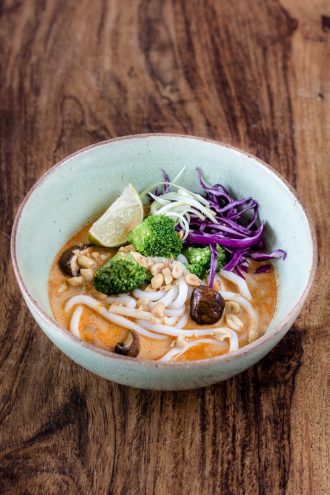 Udon Thai Curry Bowl