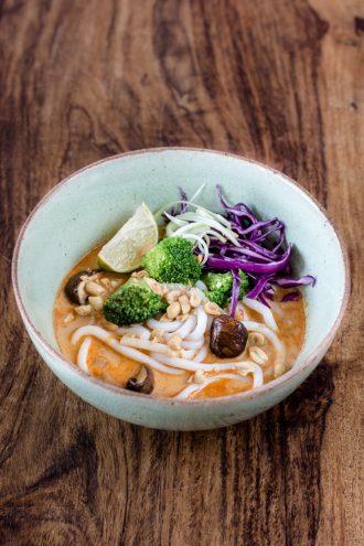 Udon Thai Curry Bowl
