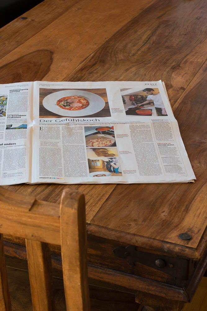 Paprikarisotto mit Schweinefilet Sous Vide in der Sonntagsausgabe der Rheinpfalz